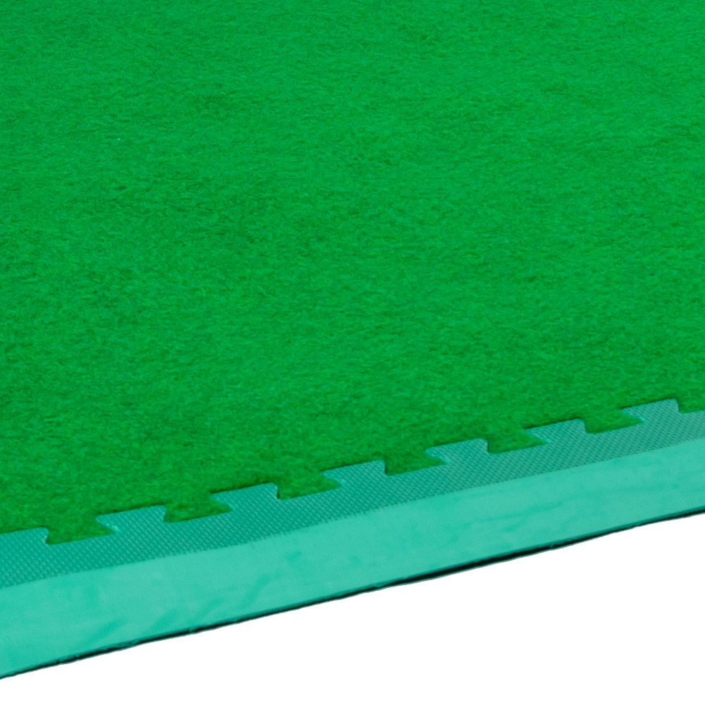 Astrotile 1m Artificial Grass Tiles 4 Pack Soft Floor
